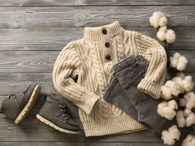 Picture of Children Winter Branded clothing - 45 lbs. (Premium Quality)