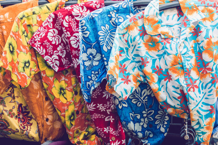 Picture of Men's Hawaiian Shirts - 45 lbs (Good and Moderate Quality)