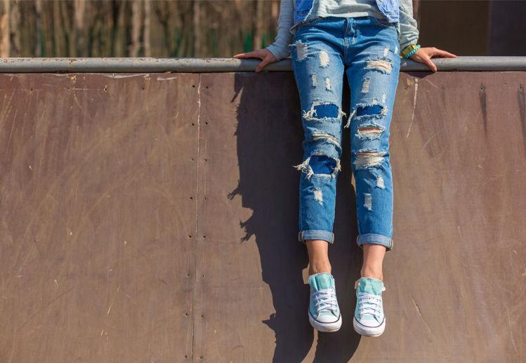 Picture of Women's Denim Jeans - 45 lbs (Premium Quality)