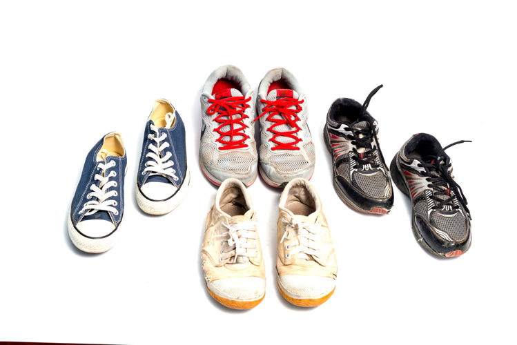 Picture of Men & Women Athletic Old School Style Shoe - 45 lbs (All Qualities Included)