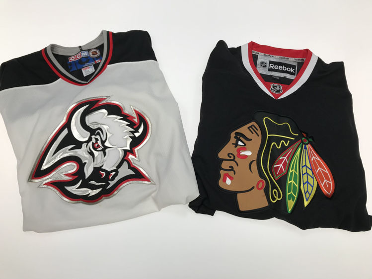 Picture of Men's NHL/MLB Shirts - 45 lbs (Good and Moderate Quality)