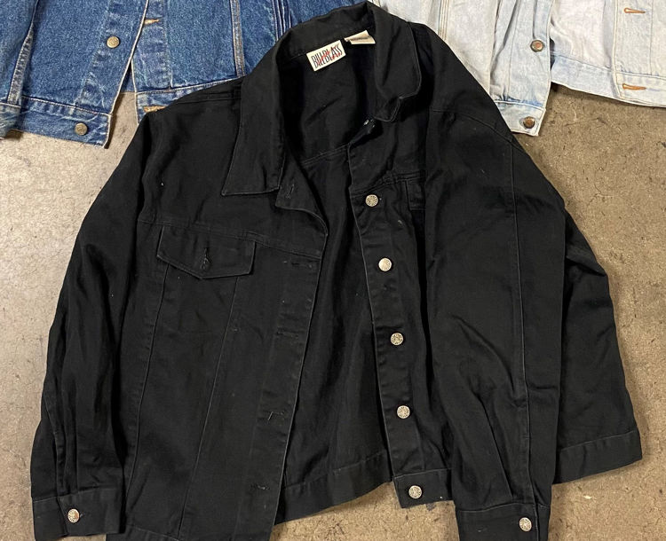 Picture of Men & Women Vintage Denim Jackets - 45 lbs (All Qualities Included)