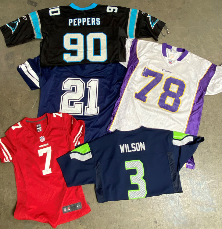 Picture of Men's NFL Shirts - 40 lbs (Good and Moderate Quality)