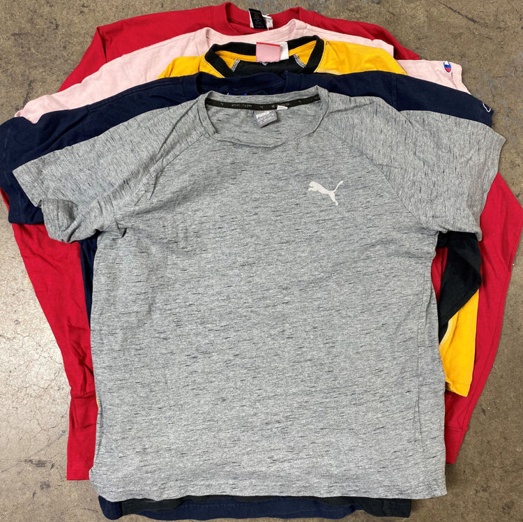 Picture of Men's Vintage & Sports Branded T-shirts - 40 lbs (Good Quality)