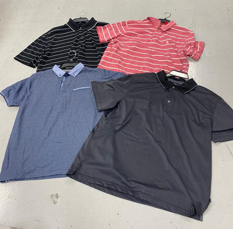 Picture of Men's Polo Shirts - 45 lbs (All Qualities Included)